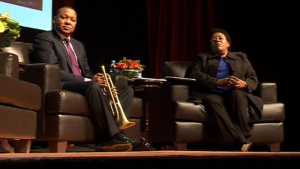 """In Conversation"" with Wynton Marsalis - Market Theatre, Johannesburg"