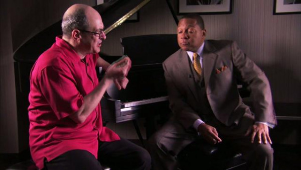 "Robert Spano and Wynton Marsalis talking about ""Blues Symphony"""