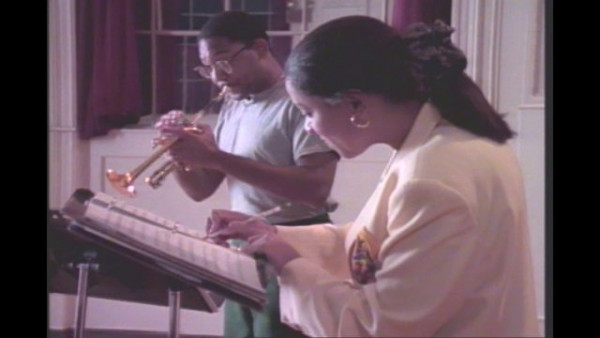 Baroque Duet - Wynton Marsalis with Kathleen Battle (clip 2)