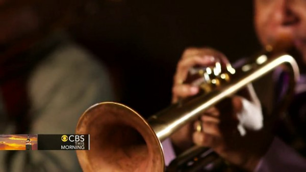 "Wynton Marsalis plays ""When The Saints Go Marching In"" - CBS This Morning"