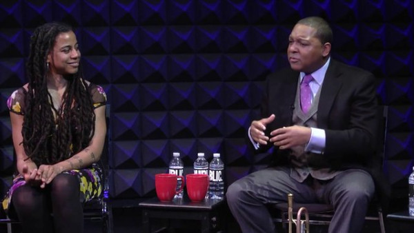 Wynton Marsalis and Suzan-Lori Parks discuss music and American identity