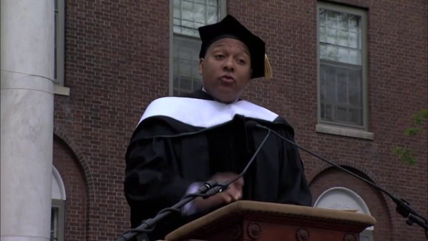 Wynton speaking at University of Vermont's Commencement Ceremony 2013