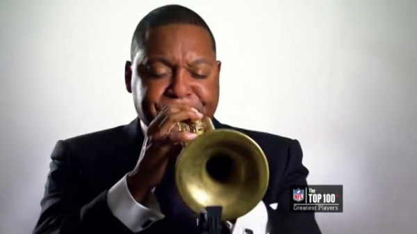 Wynton Marsalis presenting Barry Sanders: Top 100 NFL Players of All Time