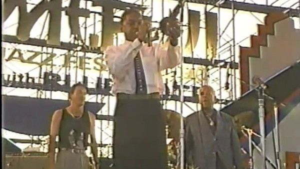 Manteca - Wynton Marsalis with Dizzy Gillespie Group at Mt. Fuji Jazz Festival (1990)