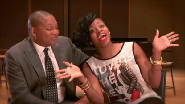 Behind the scenes with Wynton Marsalis and Fantasia for the upcoming Broadway show: After Midnight
