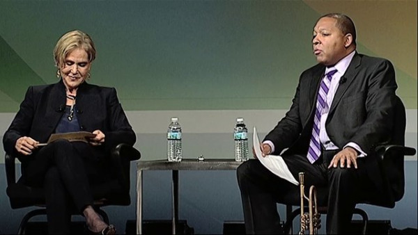 "Wynton Marsalis and Judith Rodin ""Leveraging the Power of Innovation"" at the 2013 Independent Sector"