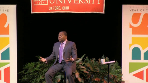 "Year of the Arts"" Keynote by Wynton Marsalis at Miami University, Oxford OH"
