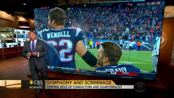 What do Tom Brady and the conductor of the NY Philharmonic have in common? - CBS This Morning
