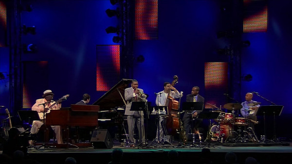 C.C. Rider - Wynton Marsalis Quintet featuring Lucky Peterson at Jazz in Marciac 2012