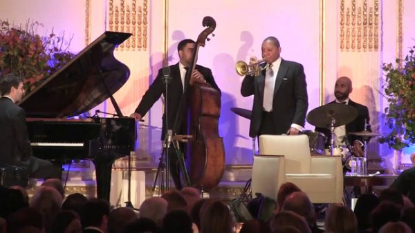 Presenting Wynton Marsalis, 2013 Henry Crown Leadership Award Recipient