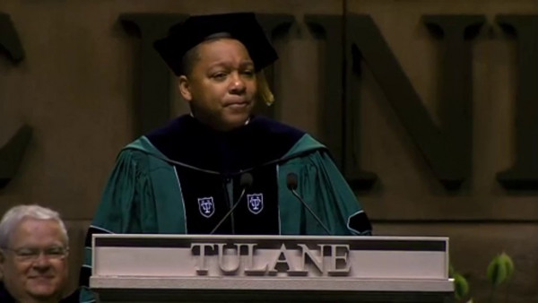 Wynton delivering Keynote Address at Tulane University's Commencement 2014