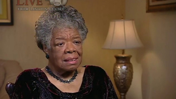 "Maya Angelou and Wynton Marsalis talking about: ""Music, Deep Rivers in My Soul"""