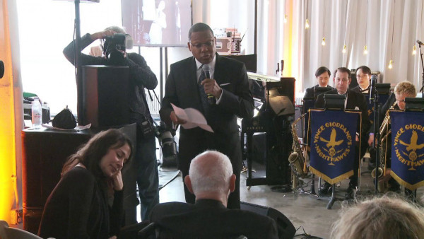 Wynton Marsalis proud to give Lifetime Achievement Award to Bruce Lundvall