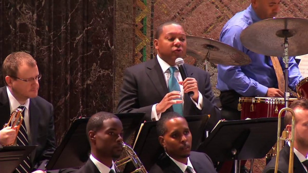 Jazz at Lincoln Center Orchestra with Wynton Marsalis visit Washington University in St. Louis