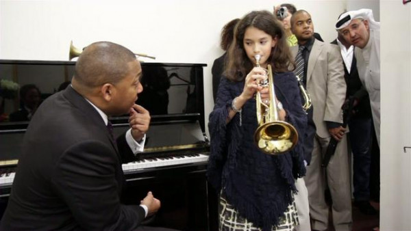 Behind the scenes in Abu Dhabi - Wynton Marsalis Septet