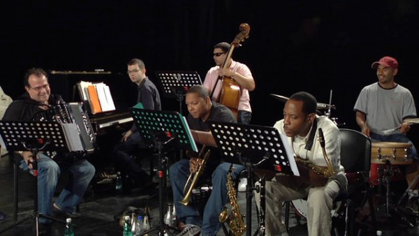 Strange Fruit (rehearsal) - Wynton Marsalis Quintet with Richard Galliano