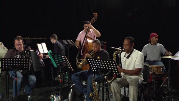 La Foule (rehearsal) - Wynton Marsalis Quintet with Richard Galliano live at Jazz in Marciac 2008