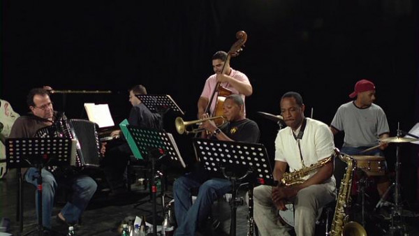 If You Love Me (rehearsal) - Wynton Marsalis Quintet with Richard Galliano