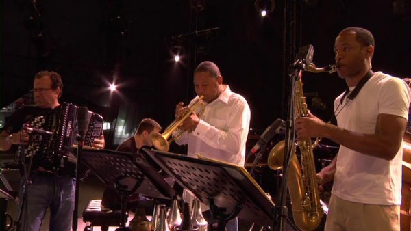 L'Homme à la Moto (soundcheck) - Wynton Marsalis Quintet with Richard Galliano