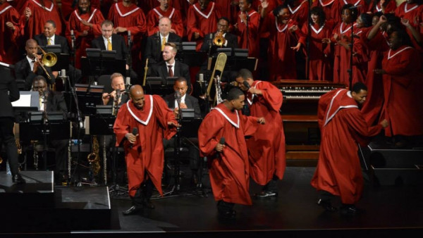 Abyssinian: A Gospel Celebration (full concert) - JLCO with Wynton Marsalis and Chorale Le Chateau
