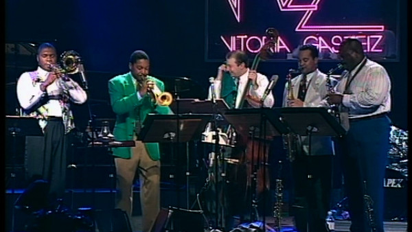 Choral Response, Local Announcement - Wynton Marsalis Septet at Vitoria Jazz Festival 1994