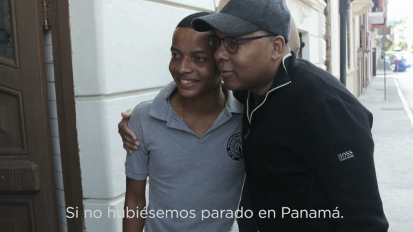 JLCO with Wynton Marsalis visiting the Danilo Perez Foundation in Panama