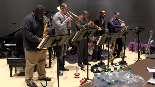 Jingle Bells (rehearsal) - Wynton Marsalis Octet
