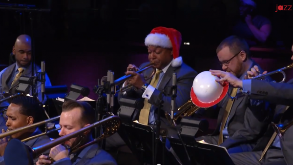Big Band Holidays (full concert) - JLCO with Wynton Marsalis and Cécile McLorin Salvant