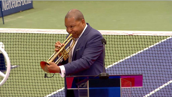 Wynton Marsalis on Louis Armstrong - ESPN ad for US Open