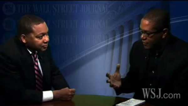 "Wynton discussing the album ""He and She"" with Wall Street Journal"