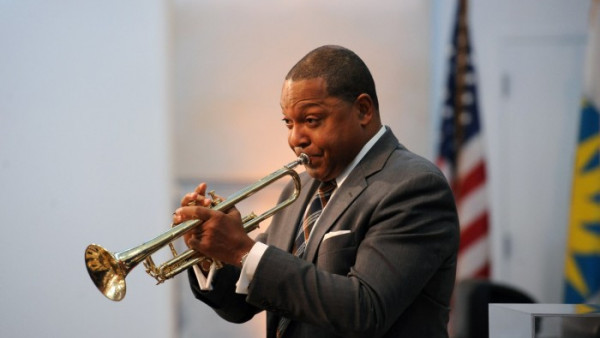 Wynton Marsalis plays Louis Armstrong's trumpet at the Installation of Smithsonian Secretary