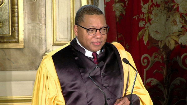 Wynton's acceptance speech - Honorary Doctorate by University Jean Moulin Lyon3