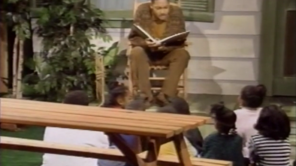 "BET Story Porch 1995: Wynton reading ""Nicholas Cricket"" and ""Ben's Trumpet"""
