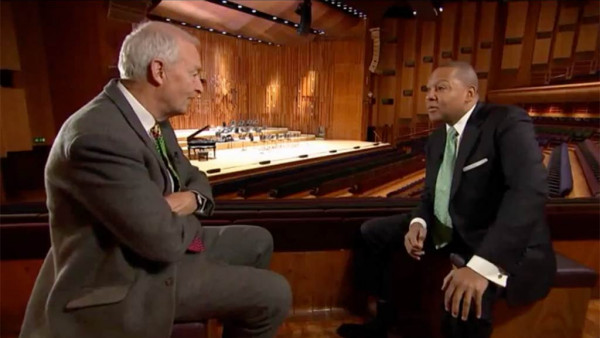 Channel 4 interview: Wynton Marsalis on Benny Goodman's performance at Carnegie Hall