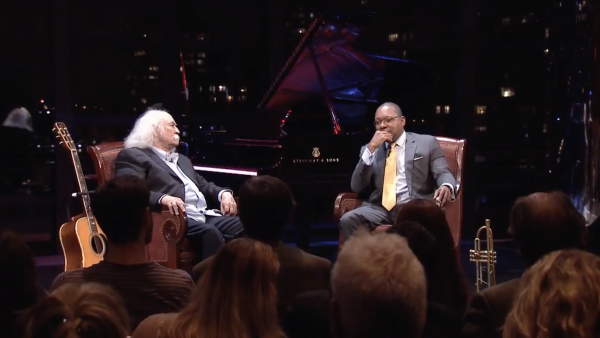 David Crosby Interview with Wynton Marsalis - Speakeasy TV