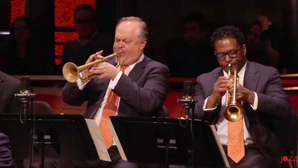 Drunk as A Skunk (from Untamed Elegance) - JLCO with Wynton Marsalis