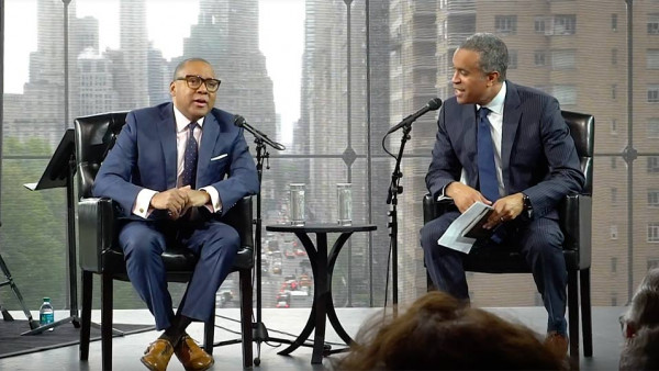 Maurice DuBois interviews Wynton Marsalis - Essentially Ellington 2018