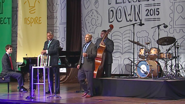 "Collegeboard ""Pencils Down 2015"" Keynote - Wynton Marsalis Quartet"