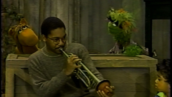 Classic Sesame Street: Wynton and kids making up a story