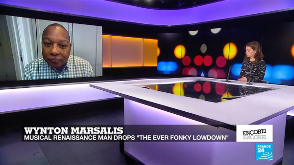 "Wynton Marsalis on ""The Ever Fonky Lowdown"" - FRANCE 24"