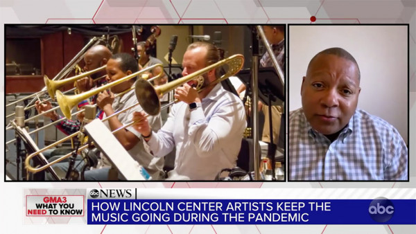 Wynton Marsalis on keeping the music flowing during the pandemic - ABC Good Morning America
