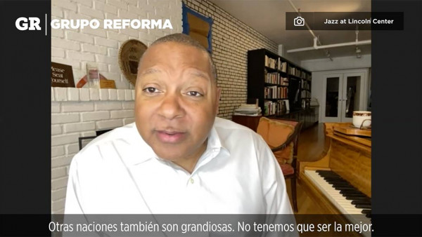 Diserta Marsalis sobre política y jazz - Interview for REFORMA