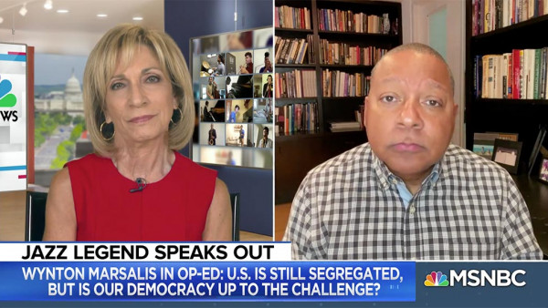 Wynton Marsalis joins the conversation on civil rights - Andrea Mitchell Reports | MSNBC