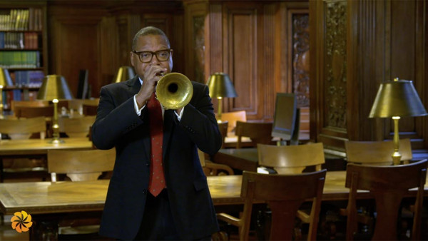 "Wynton Marsalis on ""Gratitude in Action"" - The Aurora Humanitarian Initiative"
