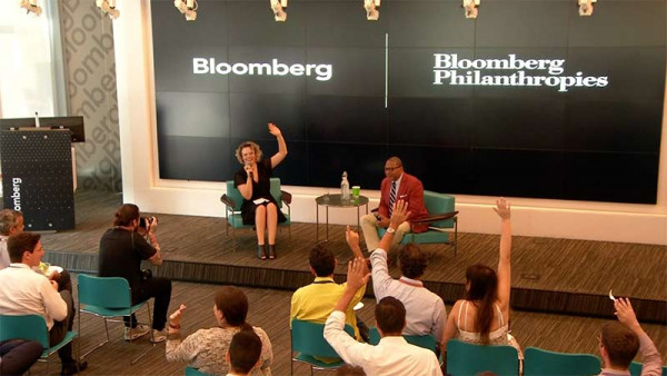 Lunch & Learn with Wynton Marsalis - Bloomberg Brazil