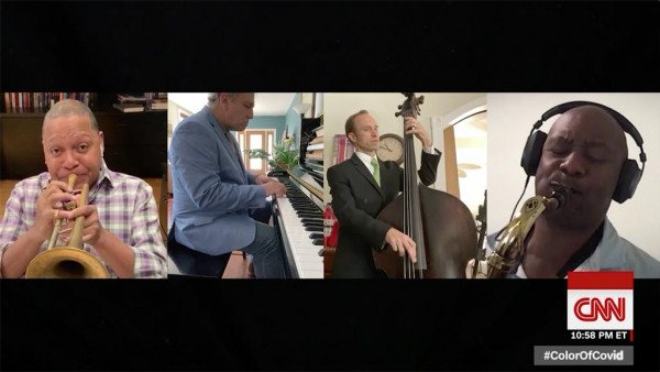 Marsalis brothers pay tribute to coronavirus victims - CNN Replay