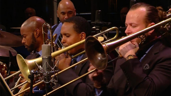 Just A-Slidin' - JLCO with Wynton Marsalis