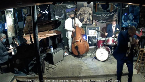 Joe Farnsworth Quartet featuring Wynton Marsalis live at Smalls Jazz Club