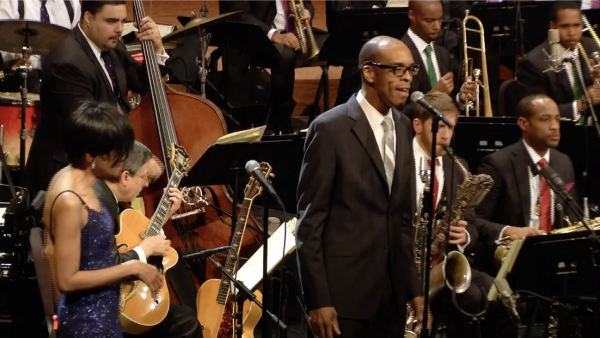 Silent Night - JLCO with Wynton Marsalis featuring Denzal Sinclaire and Audrey Shakir