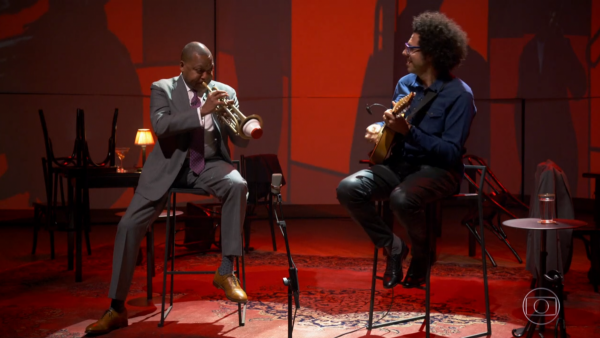 "Wynton Marsalis and Hamilton de Holanda on ""Conversa com Bial"" - TV Globo"